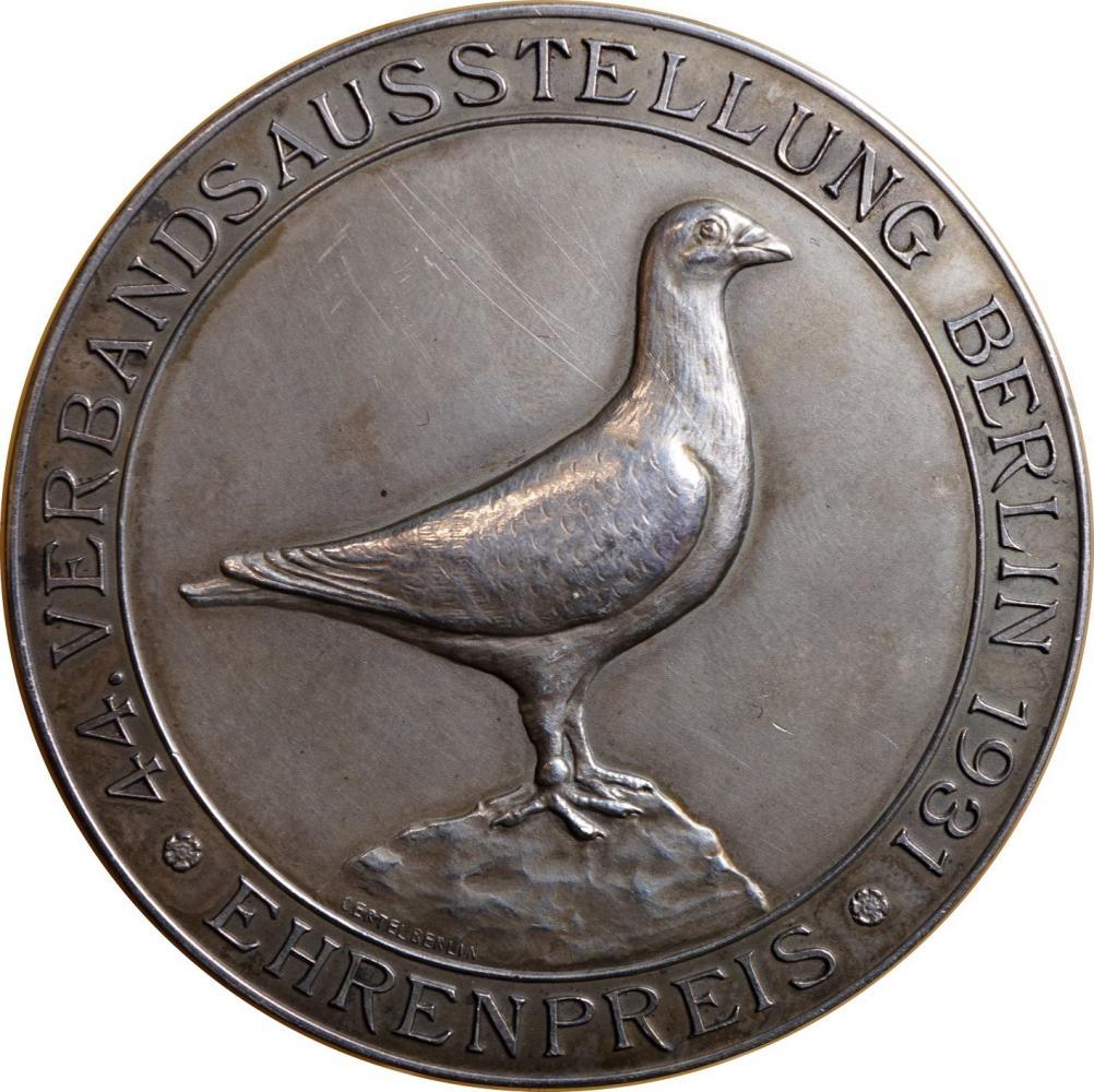 1931-Medaille-Verbandsausstellung-Rückseite